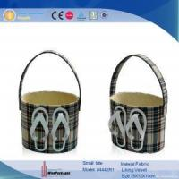 China custom print chart paper craft decoration wholesale belly basket on sale