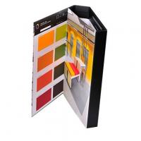 Buy cheap Custom design matte laminated paper tri-fold binder from Wholesalers