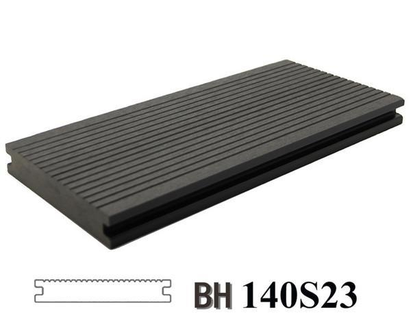 Recyclable wood plastic composite board for outdoor wpc for Cheap decking boards for sale