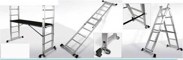 Adjustable Scaffolding For Stairs : Scaffolding ladders for sale en adjustable height