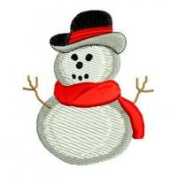 Quality Christmas Winter Snowman Snow Embroidery Design for sale