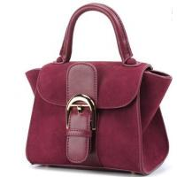 Quality Latest fashion suede women leather handbag for sale
