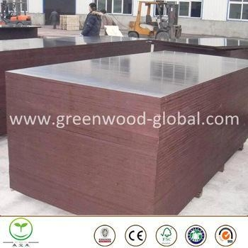 Buy 3mm / 30mm Birch Film Faced Marine Plywood Sheet at wholesale prices