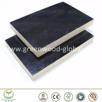 Buy 3mm / 30mm Okoume Film Faced Marine Plywood Sheet at wholesale prices