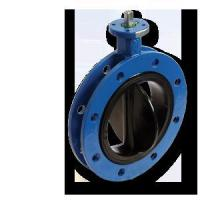 Quality Rubber Seat Flange Butterfly Valve for sale