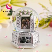 Buy cheap 120mm Plating Polyresin Snow Globe Music Box from wholesalers