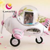 Buy cheap Plane Photo Water Globe Musical Box Gift from wholesalers