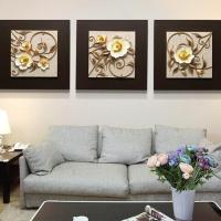 Quality YISENNI sculpture resin 3d art painting for sale