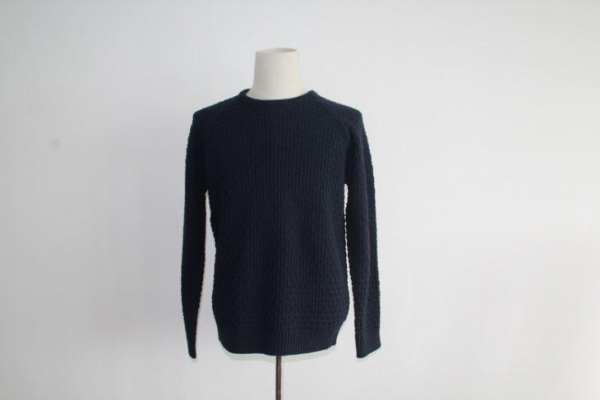 Quality latest pattern designs for men crew neck pullover sweater for