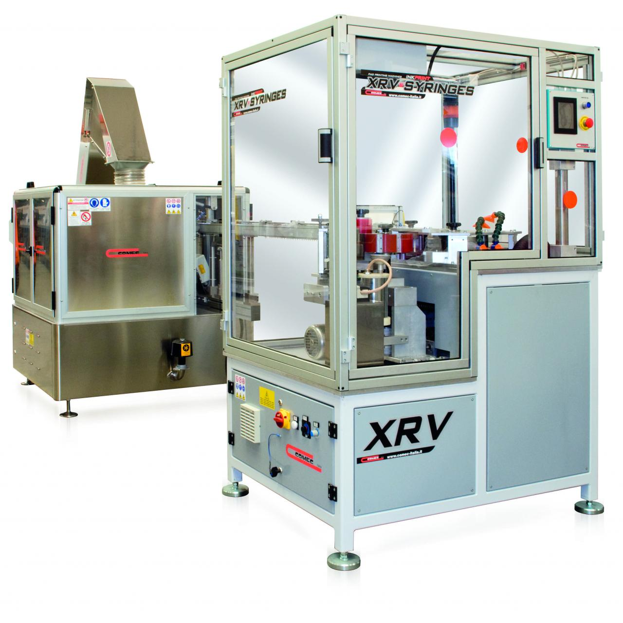 Quality XRV Rotary Pad Printer for syringes for sale