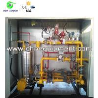 Quality Manufactured Gas/Natural Gas Pressure Skid Regulating Device for sale
