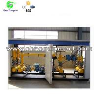 Quality Gas Pressure Regulating Skid Cabinet with Filtering Metering or Other Functions for sale