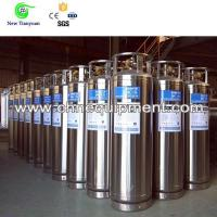 Quality Liquid Oxygen 175L Capacity Upright DPL Cryogenic Welding Insulated Cylinder for sale