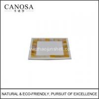 Quality Handmade Golden Mother of Pearl Soap Dishes for sale