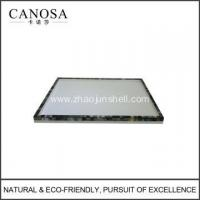 Quality Black Lip Shell Vanity Trays for Guestroom for sale