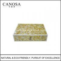 Quality Star Hotel Mosaic Mother of Pearl Amenity Boxes for sale