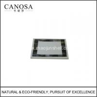 Quality Handmade Black Mother of Pearl Soap Dishes for sale