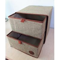Household Customized Multipurpose Nonwoven Fabric Cardboard Drawer Storage Box