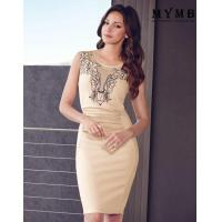China Beautiful Sexy Party Embroidered Dress Evening Dress Wear Online on sale