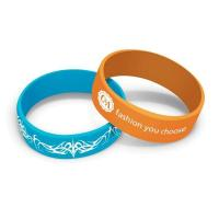 Promotional fashion silicone sport wristbands