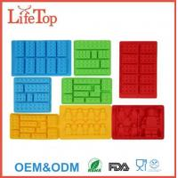China Premium Silicone Molds Building Blocks and Robots(Set of 8) on sale