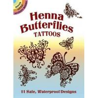 Quality Henna Butterfly Tattoos CH1050 for sale