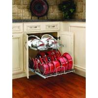 Buy cheap 21 in Cookware Organizer Two-Tier/Chrome from Wholesalers