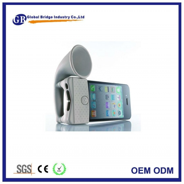Buy Desktop Silicone Horn Stand Speaker at wholesale prices
