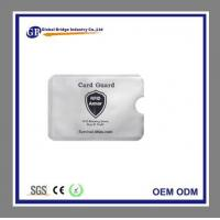 Quality RFID Credit Card Insert Protector Sleeves for sale