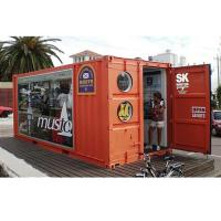 Quality Fashion Mobile Shipping Container Cafe Shop For Sale for sale