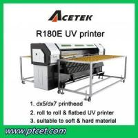 R180E-UV flatbed uv & roll to roll printer