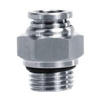 Quality JS-PC G Thread Straight Stainless Steel One Touch Fitting for sale
