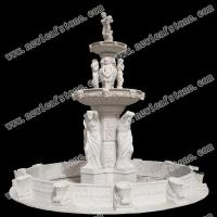Fengshui Natural Slate And Stone Fountain Table Lamp