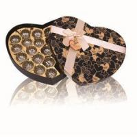 china Fancy Paper Heart Shape Chocolate Box Packaging,Christmas Chocolate Box Gift Packs