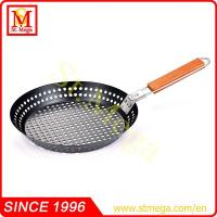 Quality 12''Non-Stick Round Grilling Skillet for sale