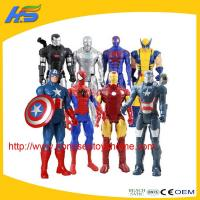 Quality action figures New product marvel the avenger toys plastic action figures for sale