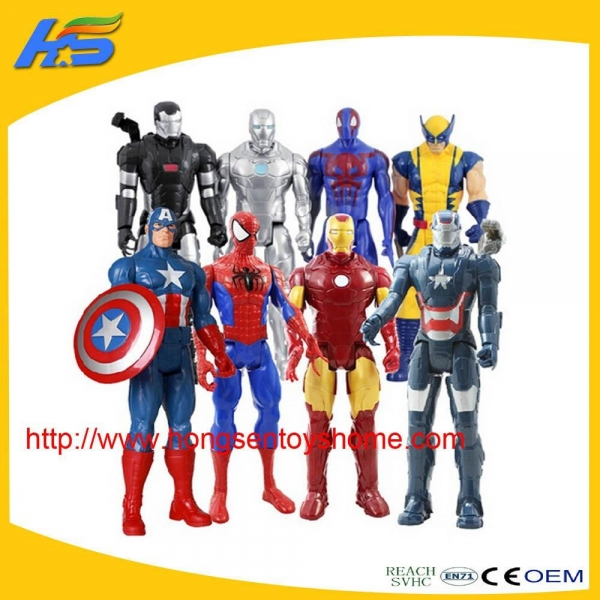 Buy action figures New product marvel the avenger toys plastic action figures at wholesale prices
