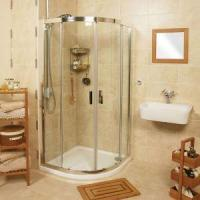 Buy cheap Free Standing Glass Shower Enclosure,Simple Shower Room Glass Barthroom from wholesalers