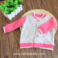 Buy cheap Stylish Printed Hiking Jacket Casual Outdoor Fleece Sports Wear for Girls from wholesalers