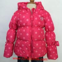 China Stylish Winter Down Coat Outdoor Printed Hiking Overcoat for Girls on sale
