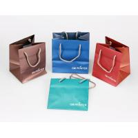 Buy cheap Gift Bag, Paper Bag, Chocolate Shopping Paper Bag, Cottom Rope Handle from Wholesalers