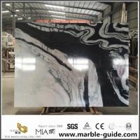 Buy cheap Panda White Marble Slab For Bathroom Flooring Tile Countertops With High Quality from wholesalers