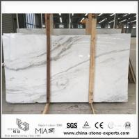 Buy cheap New Exclusive Castro White Marble Slabs for Wall / Floor Decor with Cheap Cost from wholesalers