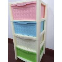 Quality PP 3 Layers Rattan Texture Drawer for sale