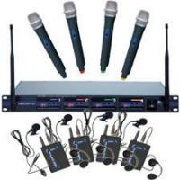 Quality VocoPro UHF-5800-PAK 4-Channel Wireless Microphone System for sale