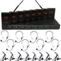 Quality UHF-5900 Vocopro 4 Channel Wireless Mic for sale