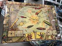 Quality Buck Rogers 1933 Vintage Map Of The Solar System And Seasons And The Earth's Orbit for sale