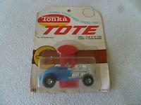 Quality New On Card Tonka Tote Double Deuce No 181 Carded Vintage Car Rare Diecast Noc for sale
