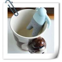 Quality Cute Mr Tea Silicone Tea Infuser for sale