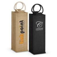 Napoli Jute Wine Carrier - (printed with 1 colour(s)) - (109081_TRDZ)